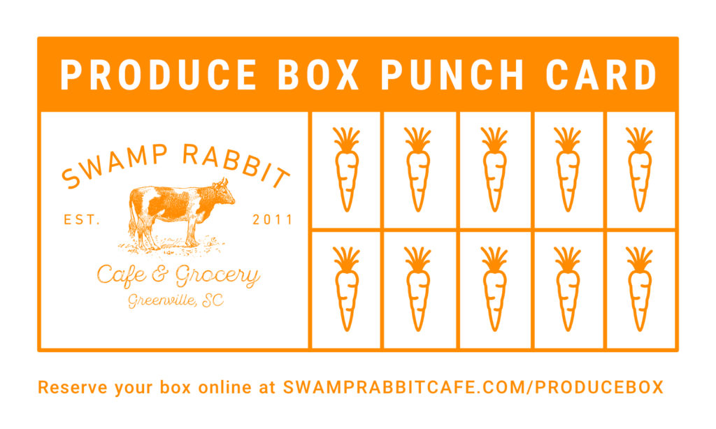 Produce Boxes | Swamp Rabbit Cafe & Grocery
